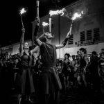 jongleurs, spectacle de rue, intermittents, feu, perpignan, Sébastien Garcia, des Sites et des Lettres, création de site, photographie
